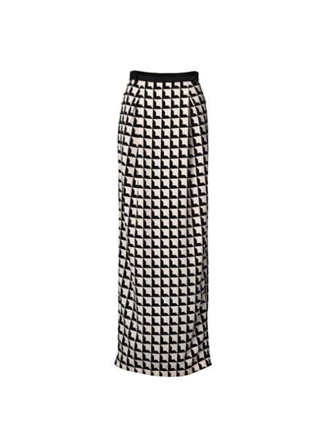 malene birger athenie graphic skirt