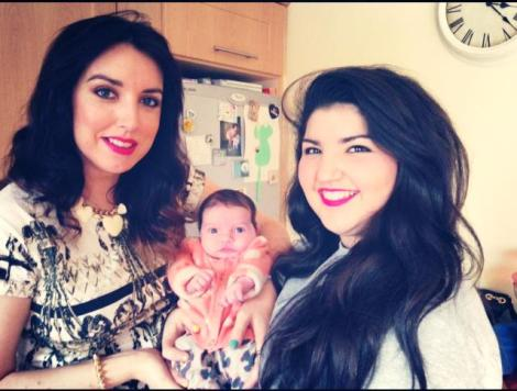 My 1st Mothers Day with Oivia and my niece Sophie