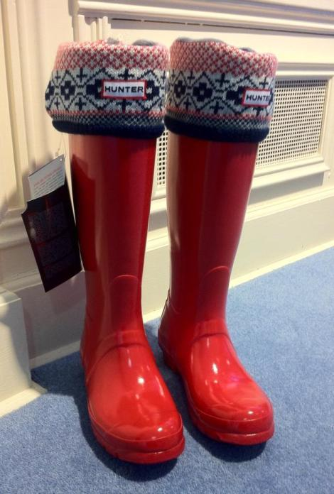 Hunter Wellies and Welly socks (sold seperately) These are more popular than ever! Boots From €80.00 Socks from €29.95