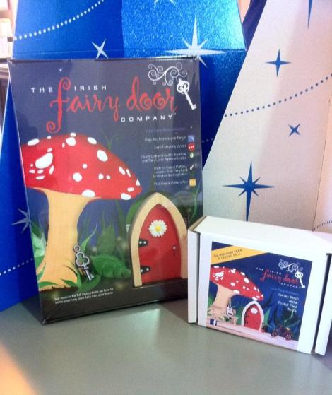 A fairy door from The Irish Fairy Door Company will put a smile on any little girl or boy's face.  Accessories come with it too to add to the magic.  €24.95