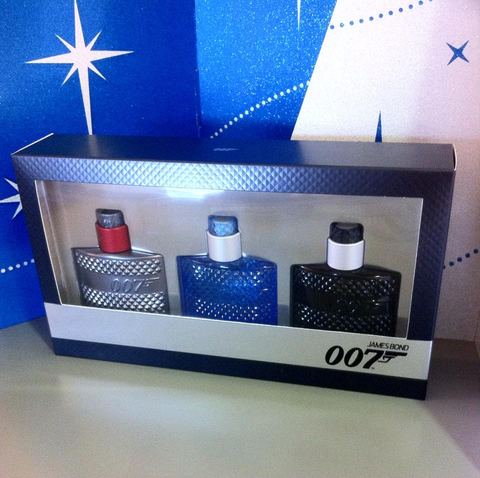 James Bond Set of 3 Mens Cologne - The fragrance from these bottles screams designer! An absolute steal for €39.95