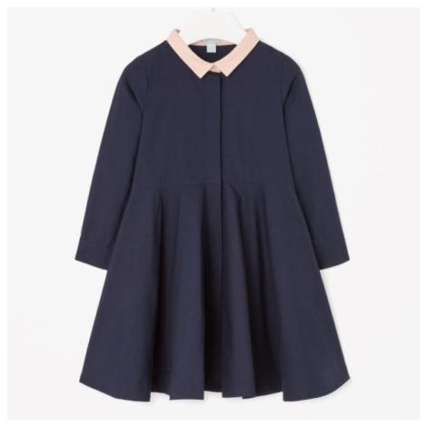 Chic Navy A-Line Dress by Cos
