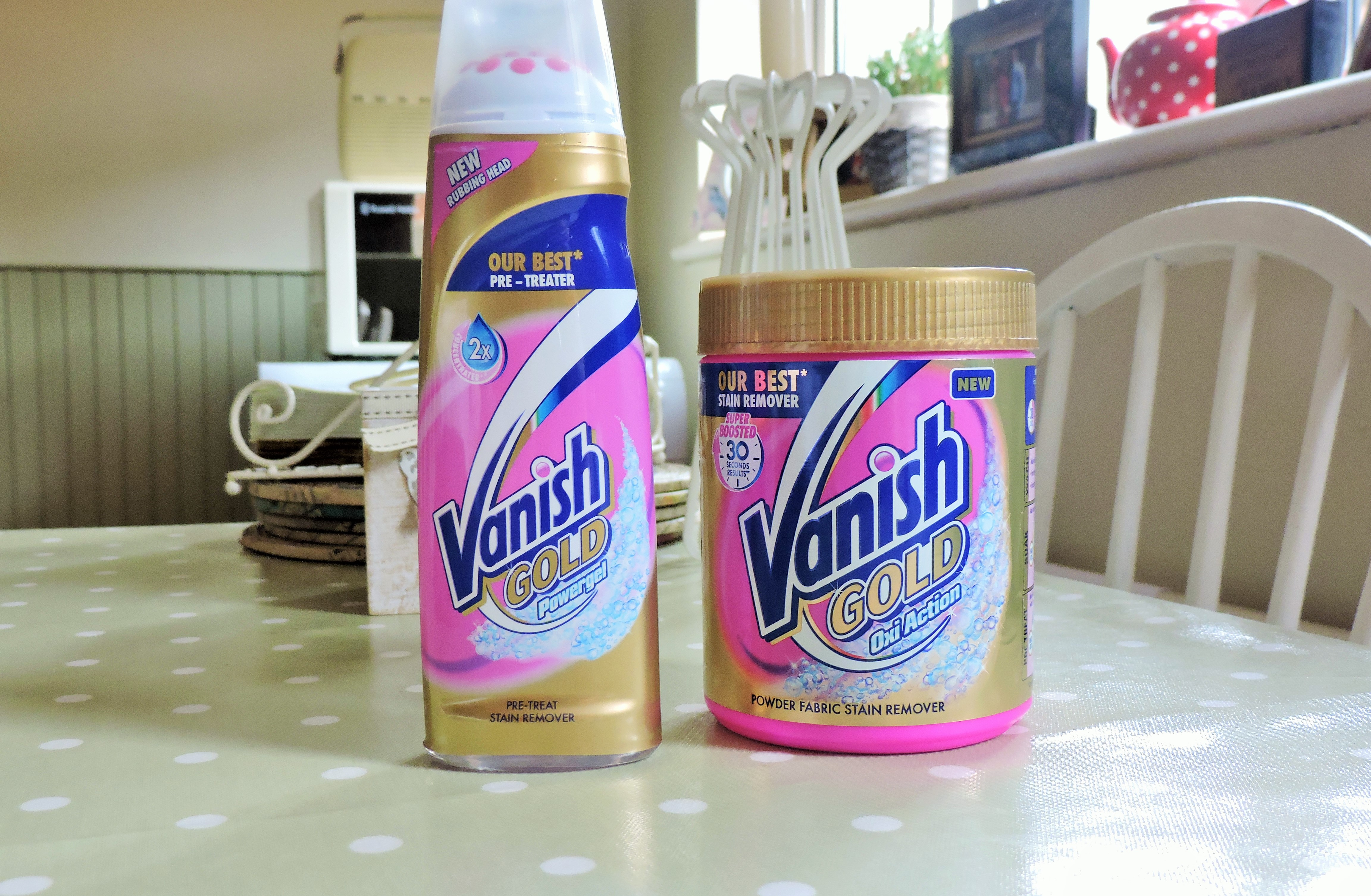 Vanish Stain Remover – Review – olivia s Mother