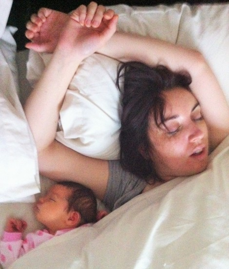 Daytime co-sleeping may have triggered something when she got older :-I