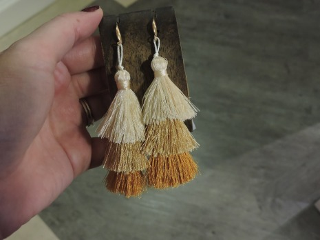 Stylish tassle earrings from 17euro - Town and Country Mercantile