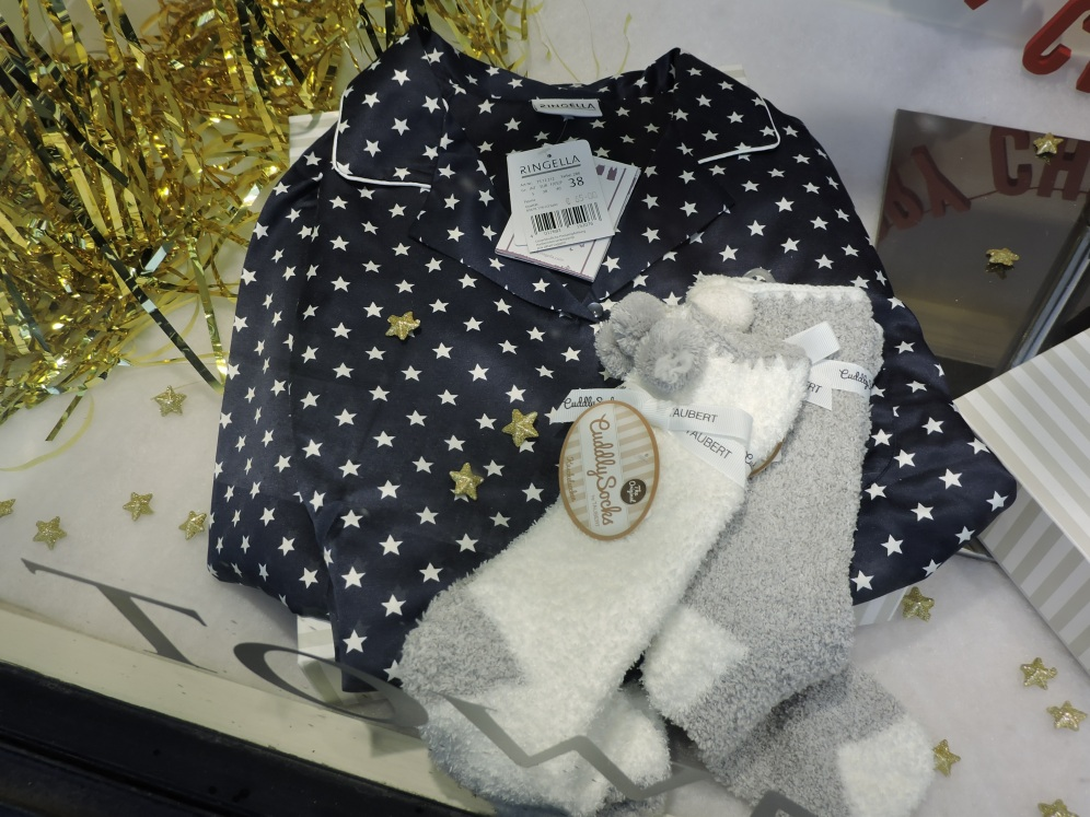 Star Print PJ's approx 60euro & Fluffy Socks 9.95 - Town and Country Mercantile