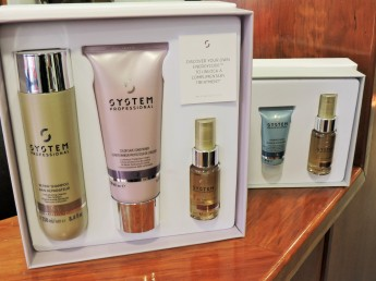 Who doesn't love having fancy hair products? These are amazing. Available in Anna Furlongs Hair Salon South St.