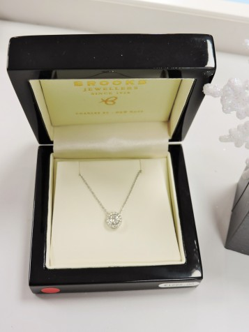 A selection of Diamond Jewellery now HALF PRICE at Brooks Jewellers Charles Street