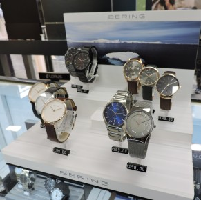 Men & Womens Watches by Bering around 150euro - Some of these I would class as unisex too! Brooks Jewellers Charles Street