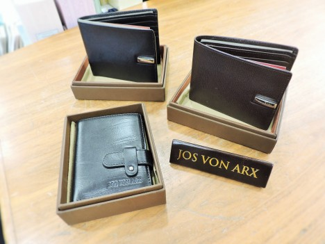 Mens Leather Wallets from 40euro by Jos Von Ark - Brooks Gift Shop