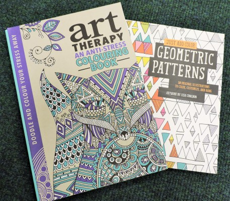 Art Therapy Colouring books for adults - Barrow Office Supplies John Street