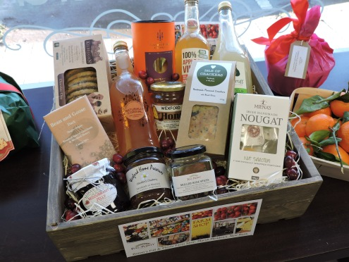 Ambient Artisan Food Hamper from 20euro - (hamper above is 70euro - Full & Plenty Farm Shop Marshmeadows