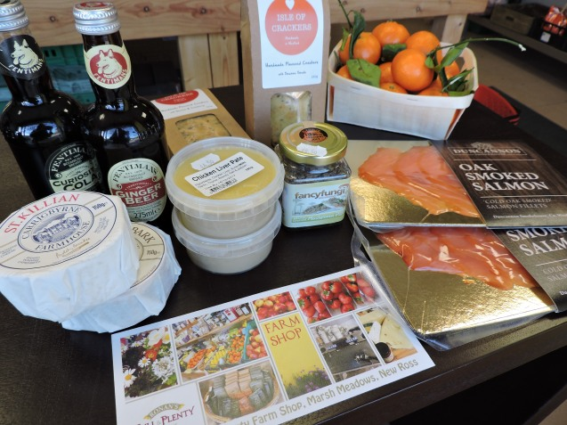 Fresh Artisan Food Hampers from Full & Plenty Farm Shop Marshmeadows. Prices start at 20.00euro